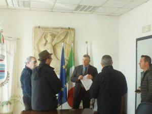 Idrovia incontro Sant'Angelo.