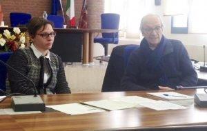 l'assessore Pasetto e Giancamillo Trapella