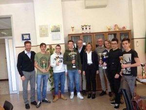 studenti Cestari premiati gara di sci