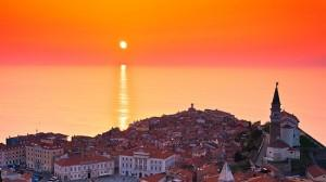 tramonto slovenia