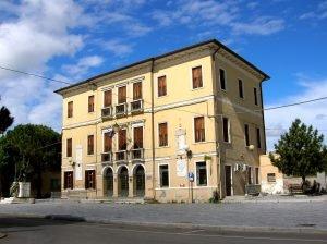 Bottrighe, Palazzo Civico, già sede municipale