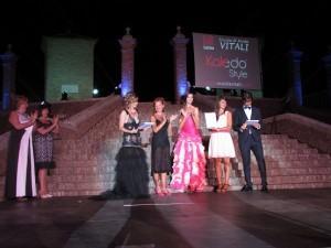 Silvia Vitali premia Erika Finottello con licenza  Lektra
