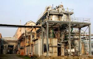 Lo stabilimento Mater-Biotech di Novamont
