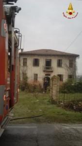 incendio casa colonica piove di sacco