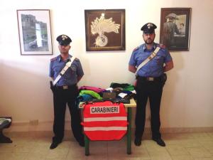 Sequestro prodotti a Rosolina Mare