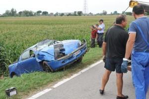 ROVIGO - 13/07/2011 passadore valeria incidente mortale baricetta di adria foto © Luca Biasioli