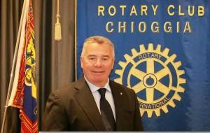 Enzo Naccari nuovo presidente Rotary Chioggia