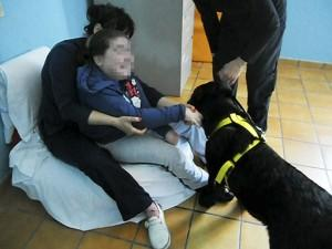 foto disabile gaetano pet terapy scorzè