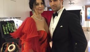 Monica Bellucci e Marco Crepaldi