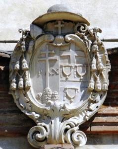 File source: http://commons.wikimedia.org/wiki/File:Sant%27Agostino,_coat_of_arrms_detail_(Rovigo).jpg