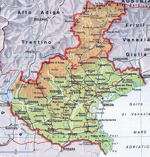 Cartina Dei Comuni Del Veneto.Dall Aggregazione Dei Comuni A Una Strategia Condivisa La Piazzaweb