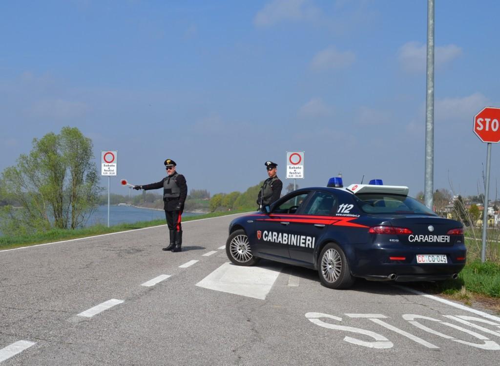 Castelmassa: evade i domiciliari. Sorpresa dai Carabinieri ...