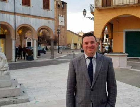 Il sindaco Davide Gianella