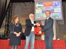Rossi ritira il premio clodiense dell'anno