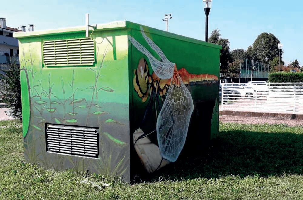 Street art: Limena all'avanguardia nota di colore con i due murales - La PiazzaWeb - La Piazza