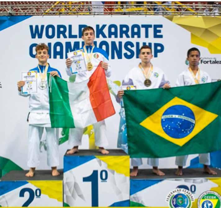 Paolo Ferraris di Chioggia, vice campione del Mondo di karate - La Piazza