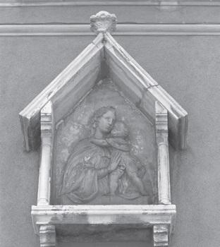 Una scultura del Sansovino