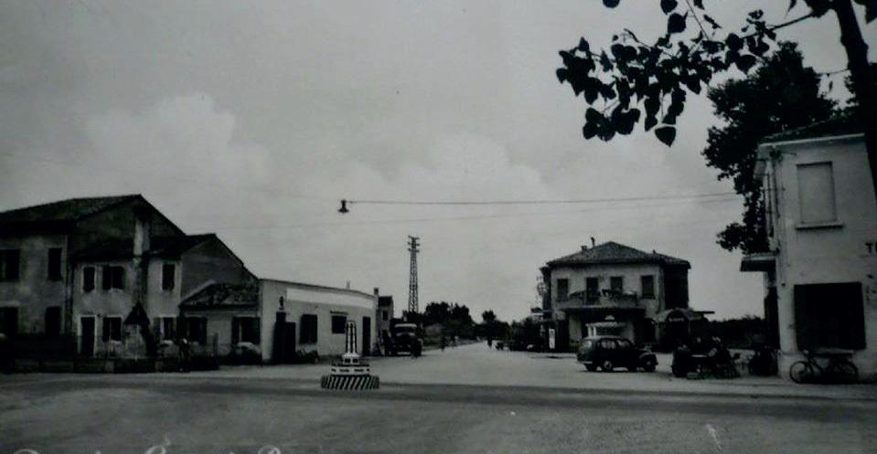 L'area di Boschetto in una foto storica