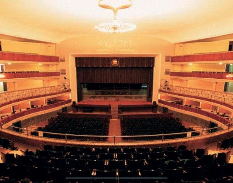 Lo storico teatro di Adria