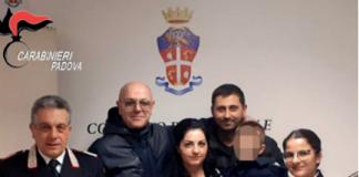 Campodarsego - Famiglia romena