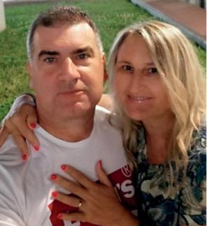 Clara Padoan e il marito Filippo