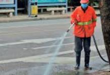 Saonara sanificazione strade