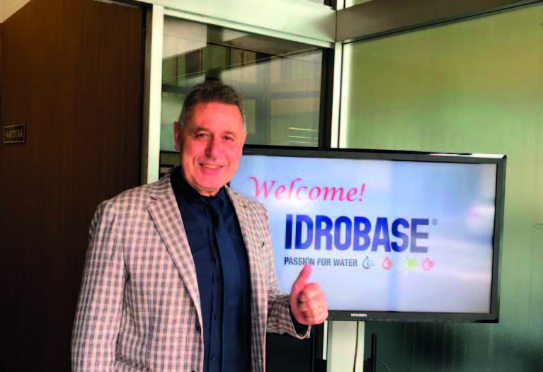 Bruno Ferrarese tra i soci Idrobase
