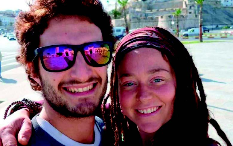Luca Tacchetto e Edith Blais
