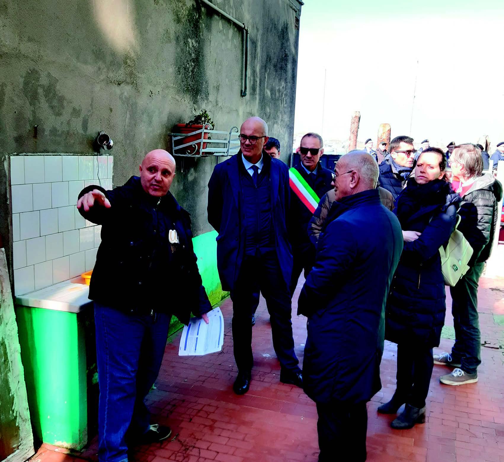 Amministrazione di Chioggia e il ministro D'Incà