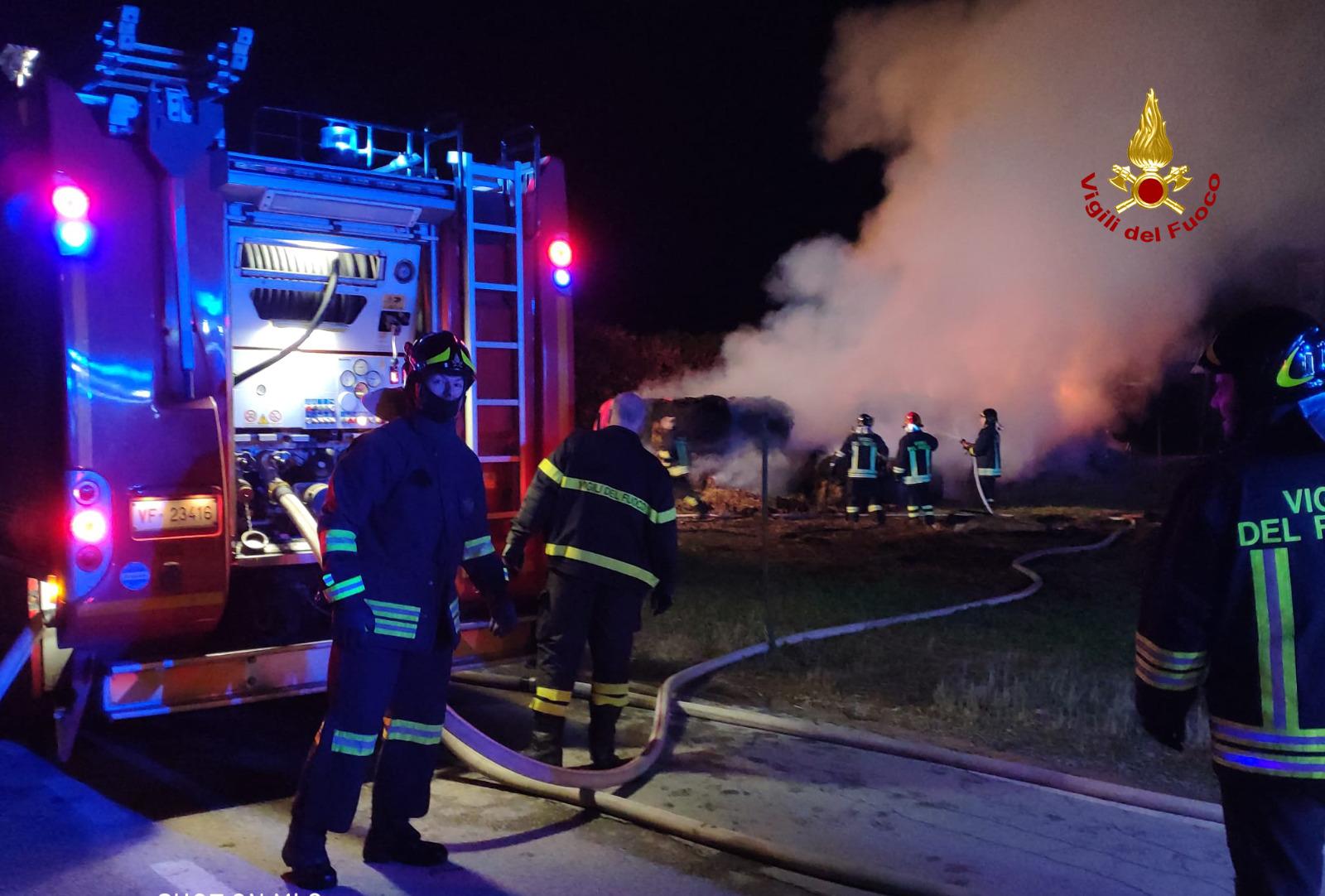 Incendio Santa Maria di Sala