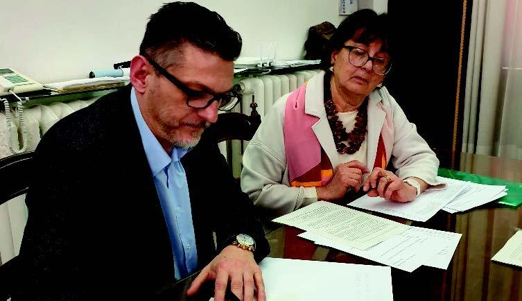 Rovigo: un momento della presentazione e della firma del protocollo