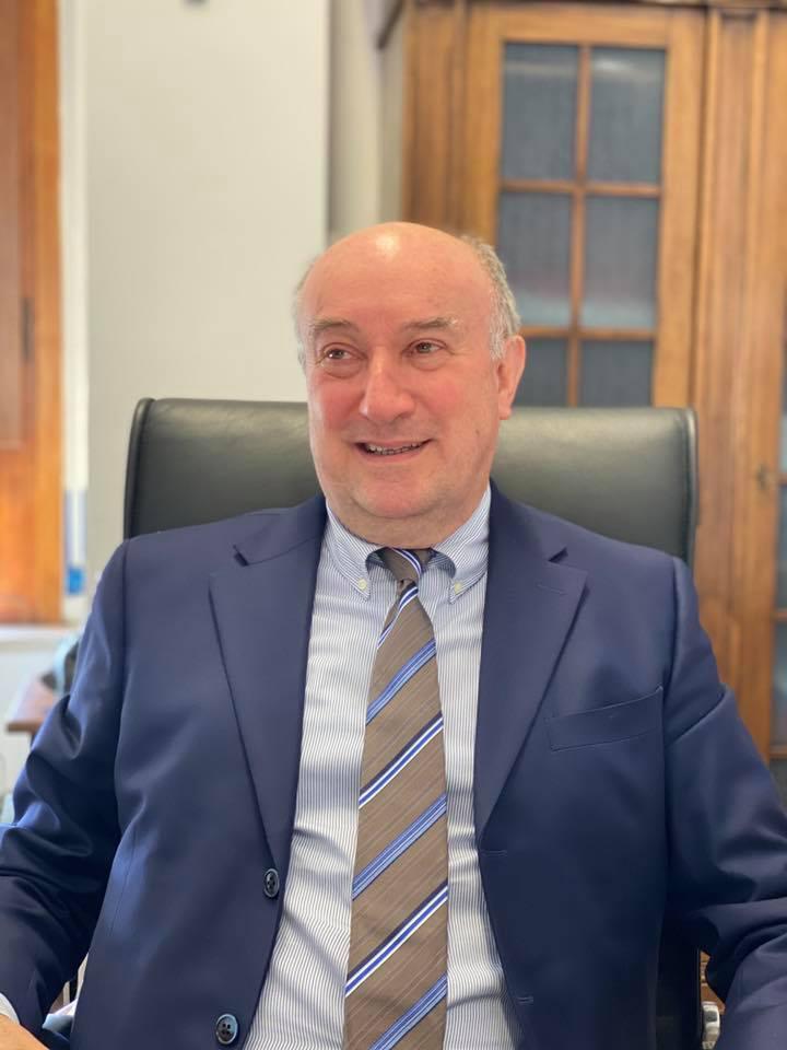 Il Direttore Generale dell'Ulss 5 Polesana Antonio Compostella, foto presa dalla pagina facebook dell'Ulss 5