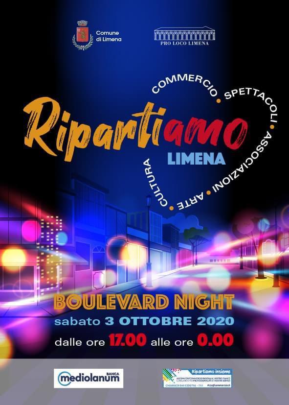 Limena Boulevard Night