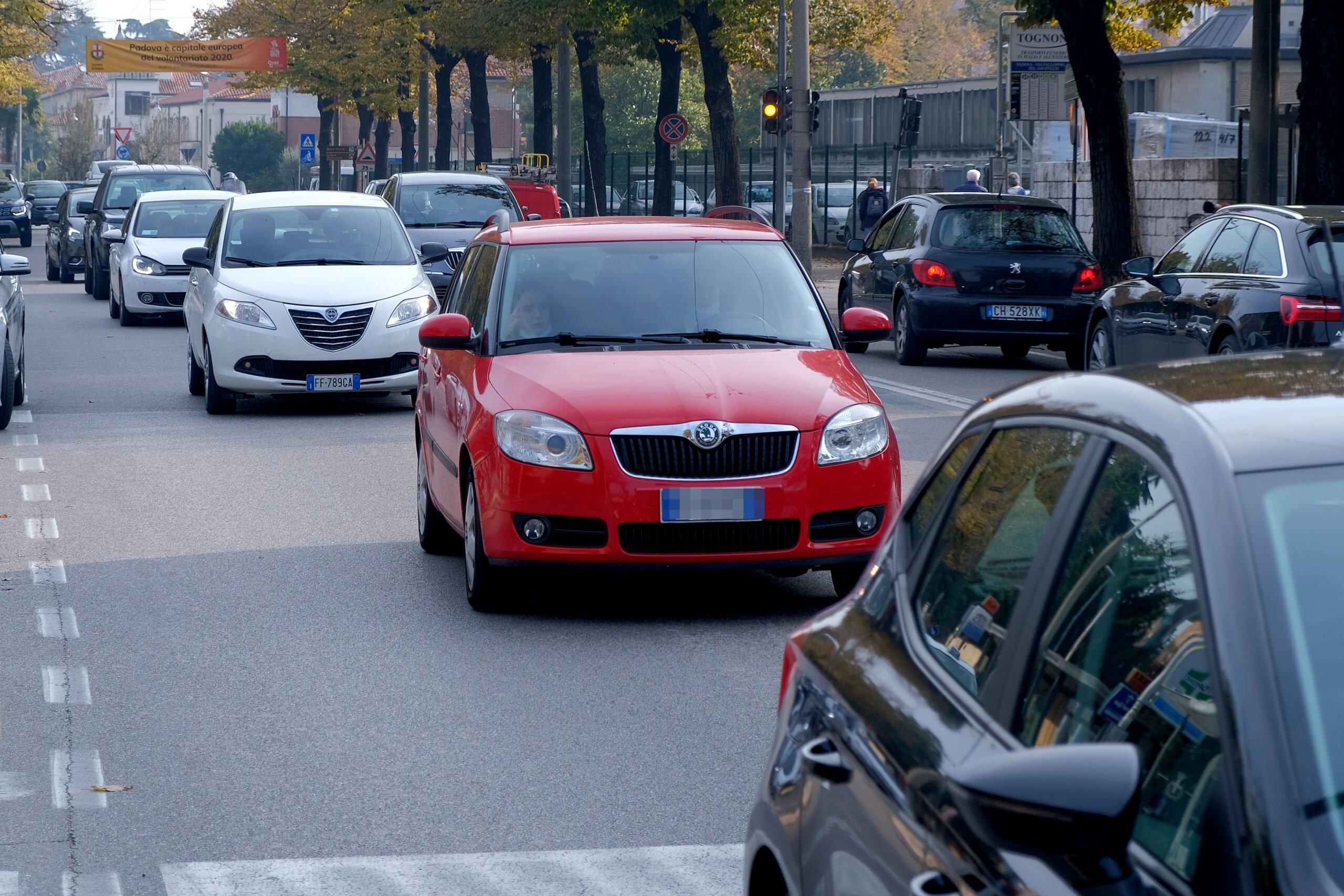 Chiuse al traffico veicolare alcune vie di Padova