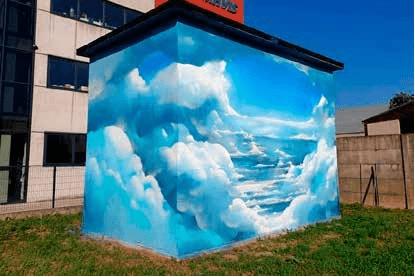 Street art Limena