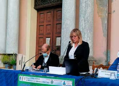 Il sindaco, Luisa Beltrame