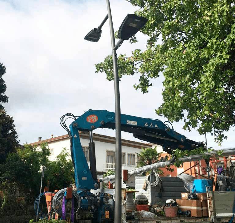 Illuminazione Montegrotto