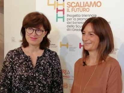 Roberta Gallana al premio del progetto 4H
