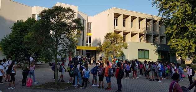 Scuola media di Tribano