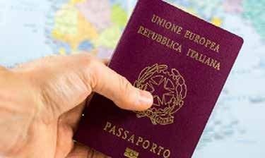 Servizio rilascio passaporti