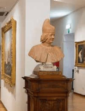 Il busto del doge Paolo Renier, conservato a Padova a Palazzo Zuckermann