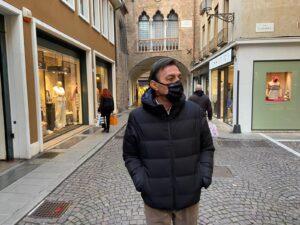 Il sindaco di Padova, Sergio Giordani