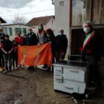 La consegna degli aiuti di Montegrotto alla Croazia