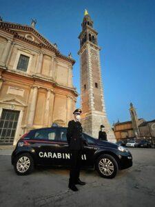 I carabinieri di Lendinara sul posto