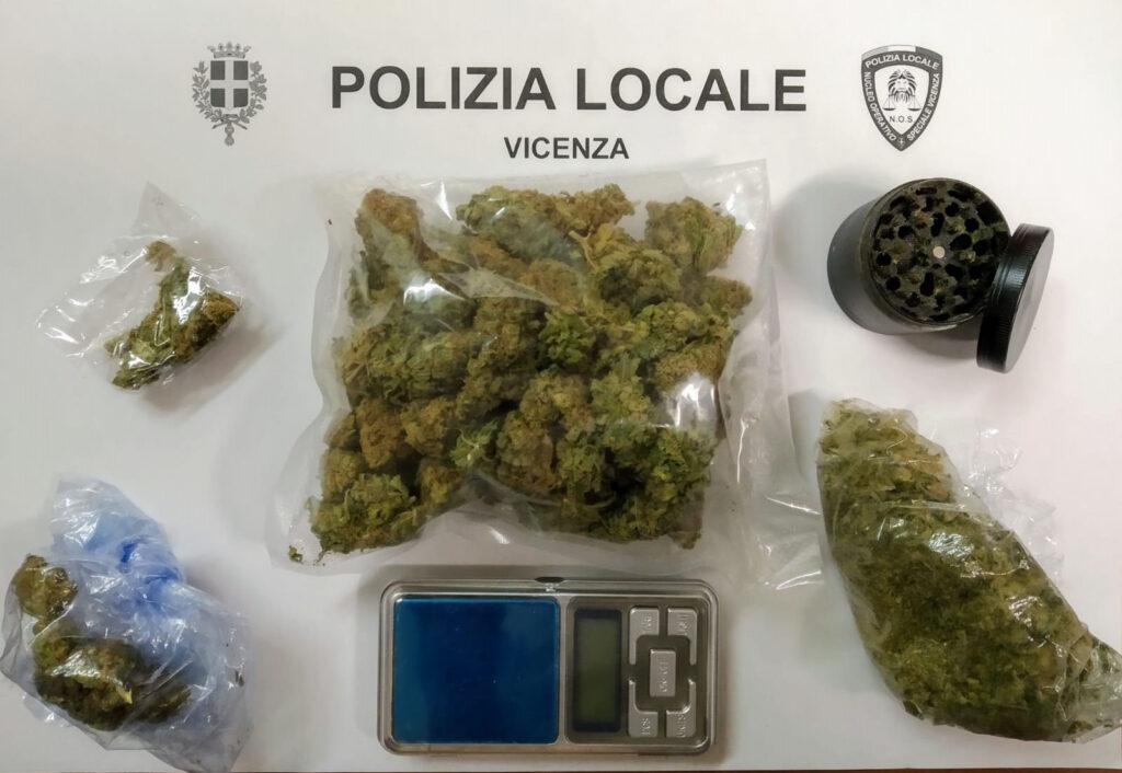 droga sequestrata a Bertesinella