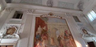 Tiepolo affresco villa Cordellina Montecchio maggiore