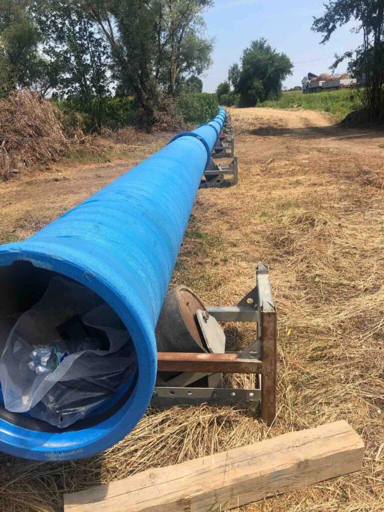 Montagnana cantiere 2020 nuovi acquedotti