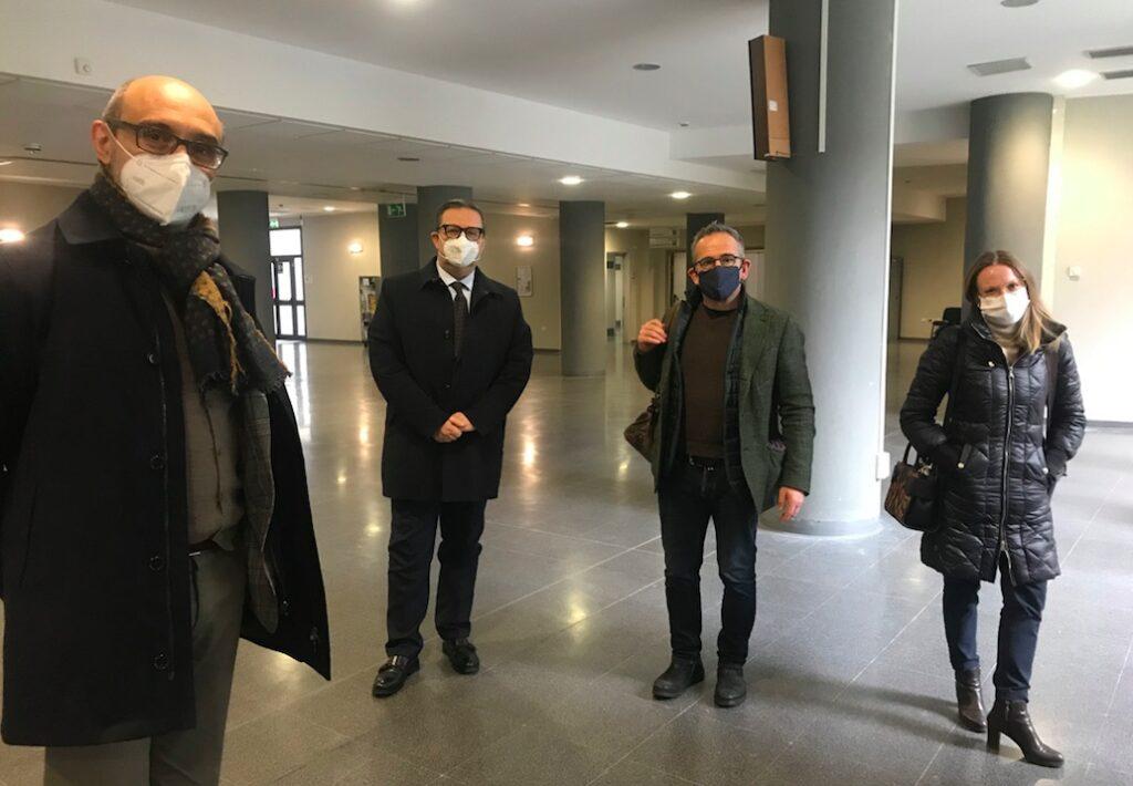 gli avvocati parte civile processo PFAS Vicenza