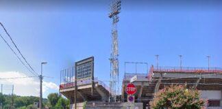 lo stadio Romeo Menti da via Asiago