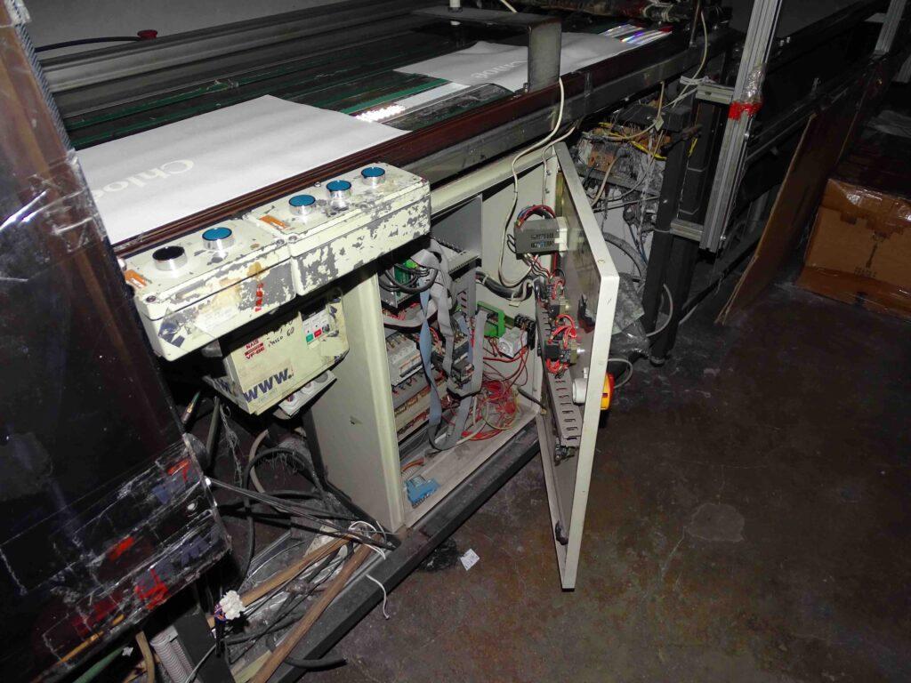 quadri elettrici scoperti in laboratorio cinese a Rosà